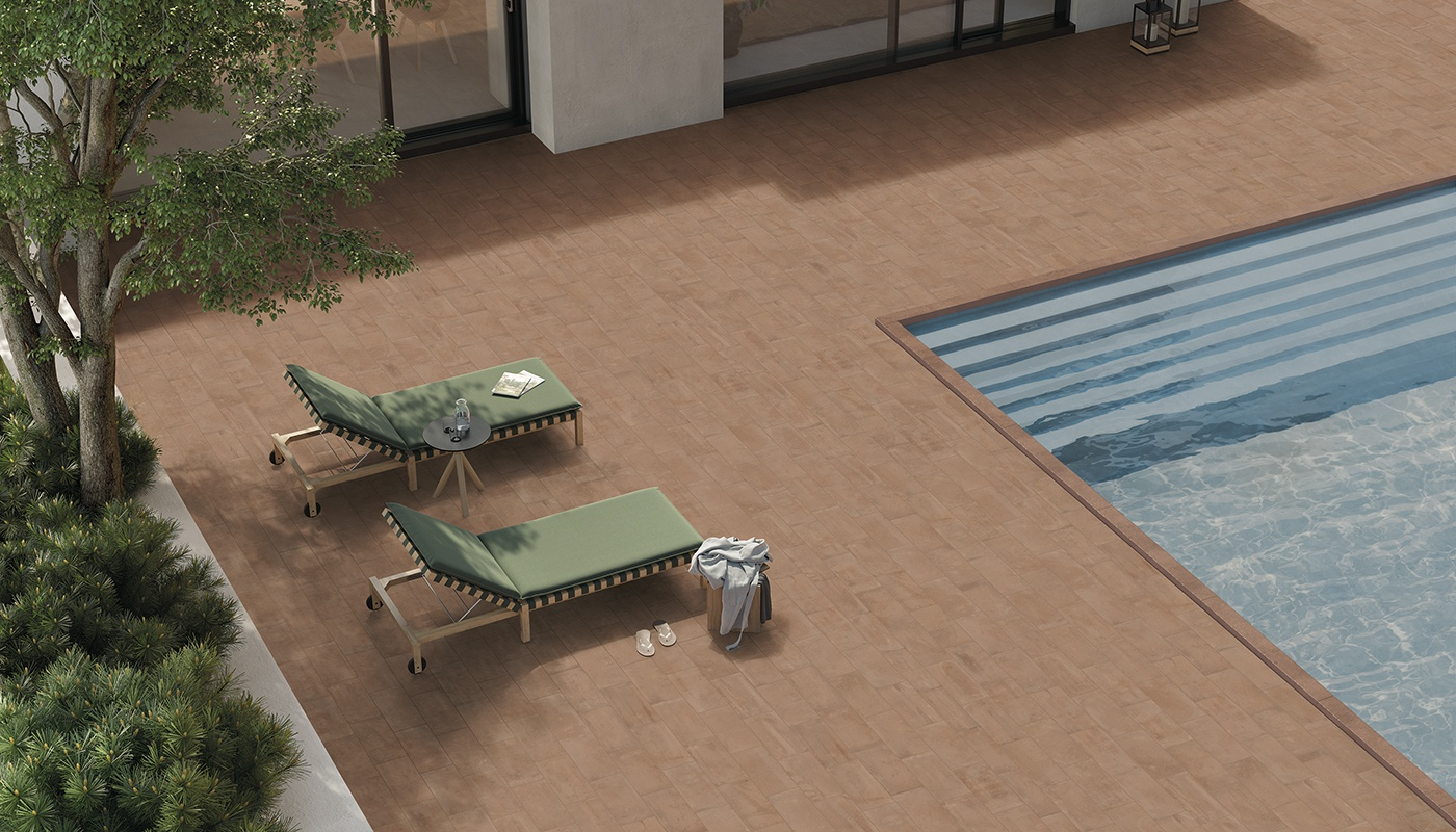 Externa Cotto outdoor red terracotta 2206