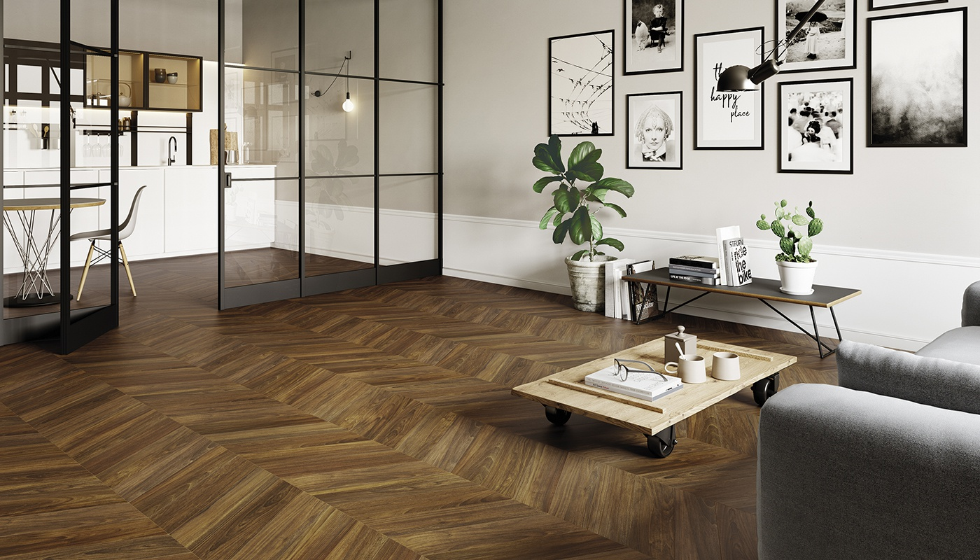 Sleekwood salon  marron bois 3197