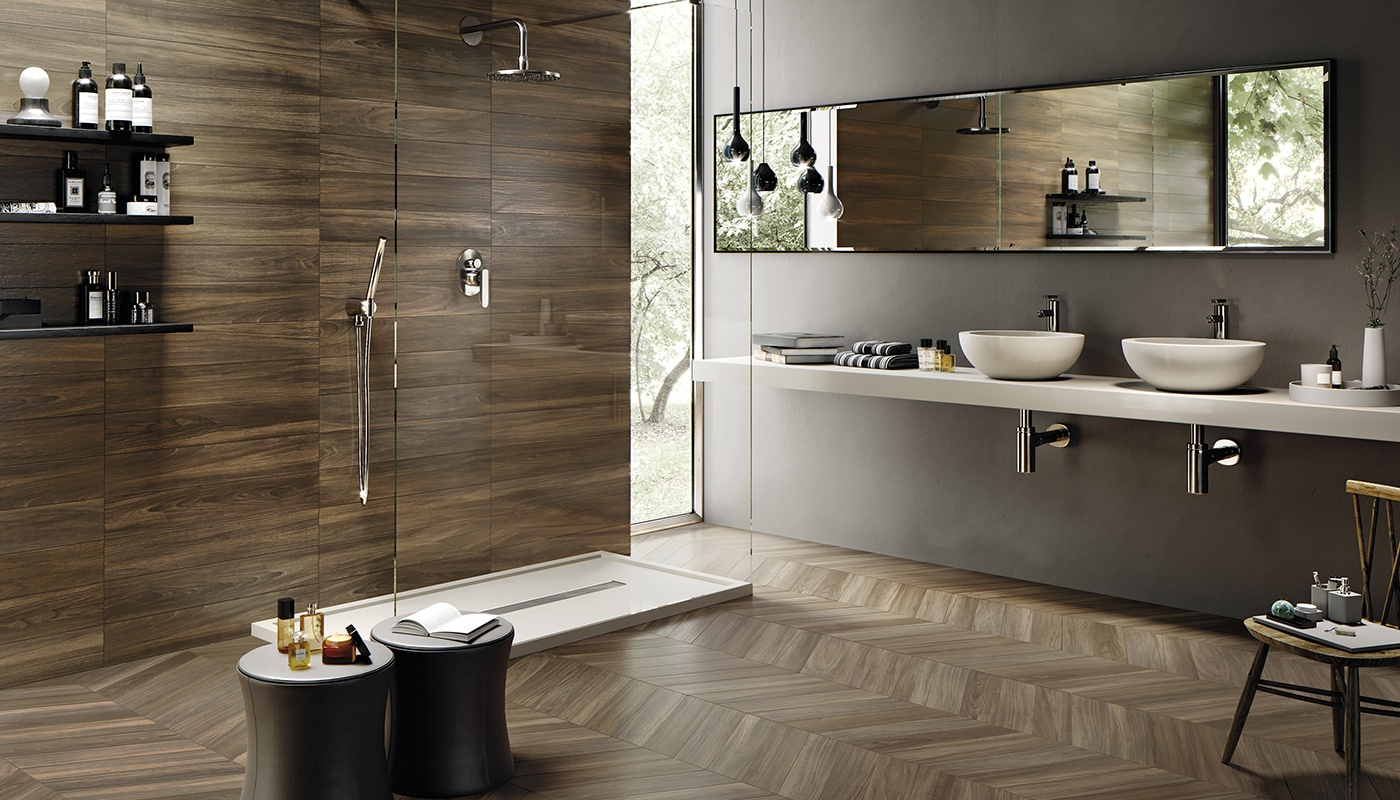 Sleekwood bain marron bois 3199