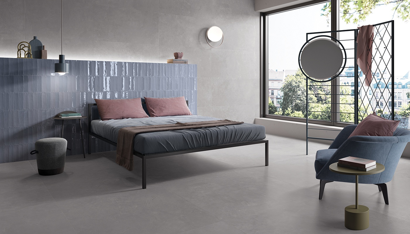 Totalook bedroom blue majolica 2321