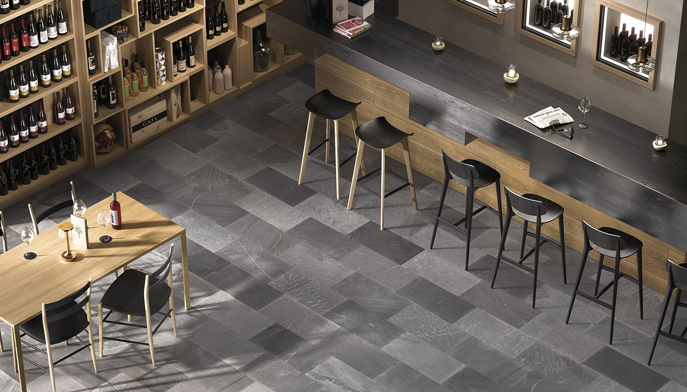 Tracce commercial anthracite pierre  3182