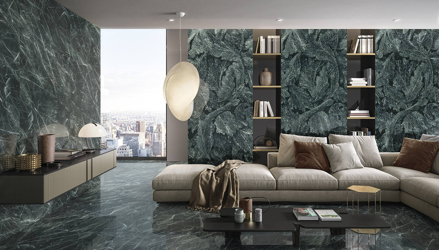 Tele Di Marmo Revolution bedroom green marble 2313