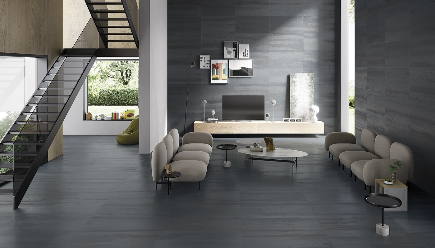 Metallica salon  anthracite métal 3245