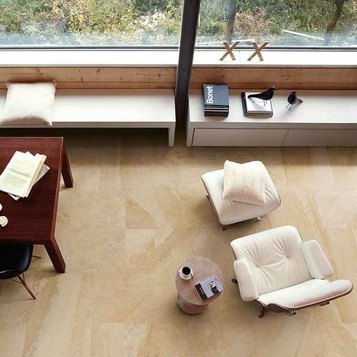 Stone-effect porcelain stoneware tiles: 50 shades of Cornerstone 23